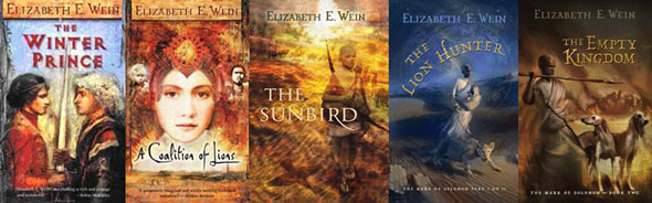 Covers of books in the Lion Hunters series